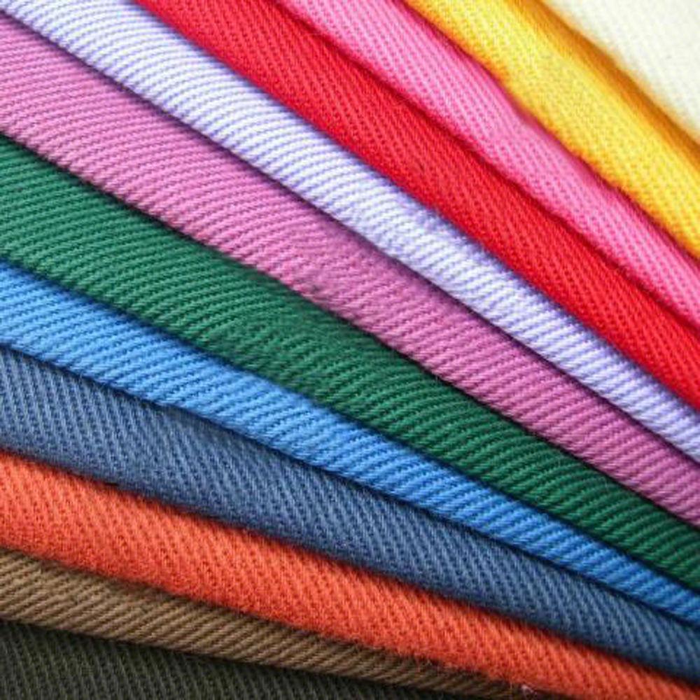 Ada jenis-jenis kain yang berbeda sebagai bahan pakaian